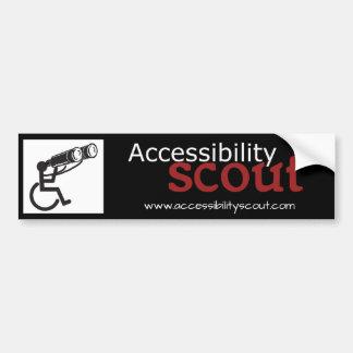 Accessibility spanar bildekalet bildekal