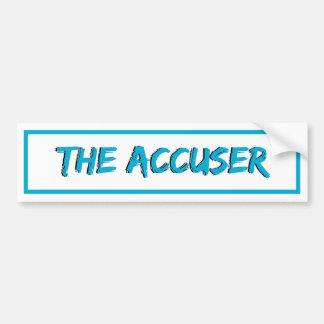 Accuseren Bildekal