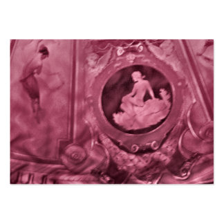 Aceo för vintagekvinnaatc set av breda visitkort