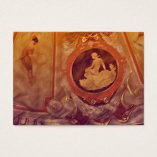 Aceo för vintagekvinnaatc visitkort