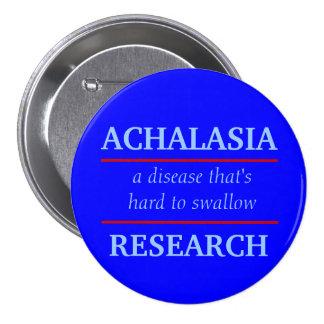 Achalasia forskning knäppas mellanstor knapp rund 7.6 cm