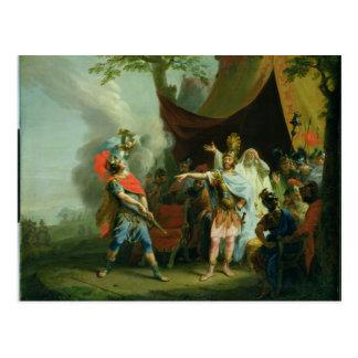 Achilles har en tvist med Agamemnon, 1776 Vykort