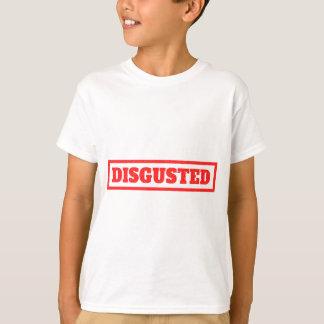 Äcklat frimärke t-shirts