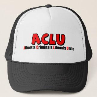 ACLU: Ateistbrottslingliberal person förenar! Keps