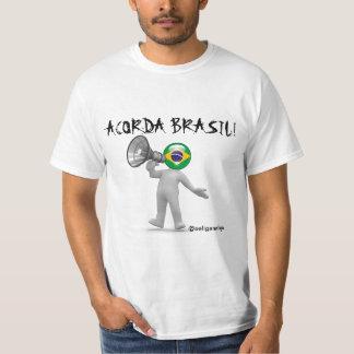 Acorda Brasil T Shirt