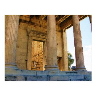 Acropolisen och parthenonen - Athens Vykort