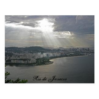 açucar pao de, Rio de Janeiro Vykort