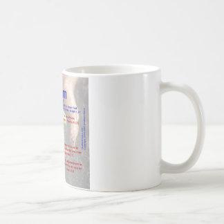 Adam Acrostic Kaffemugg