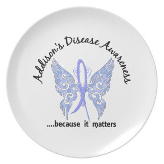 Addisons för fjäril 6,1 sjukdom tallrik