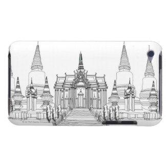 Ade för tempelFa- iPod Touch Cases