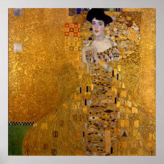 Adele Bloch-Bauers porträtt av Gustav Klimt 1907 Poster