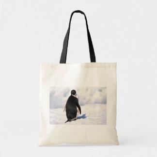 Adelie pingvin tygkasse