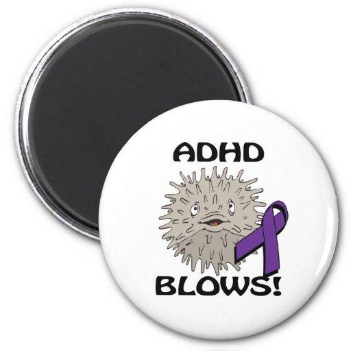ADHD blåser medvetenhetdesign Kylskåpmagneter
