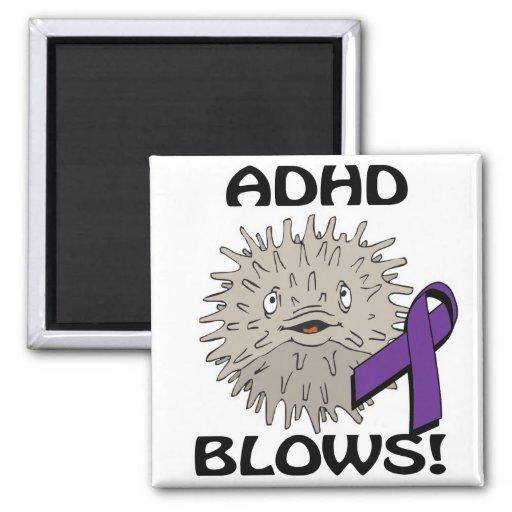 ADHD blåser medvetenhetdesign Magneter För Kylskåp