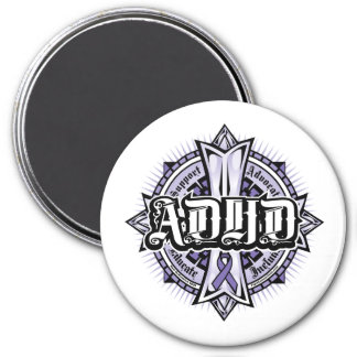ADHD-Celtickor Magnet Rund 7.6 Cm