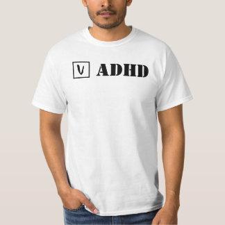 ADHD; Check! T-shirts