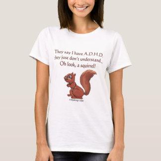 ADHD-ekorreordstäv T Shirts