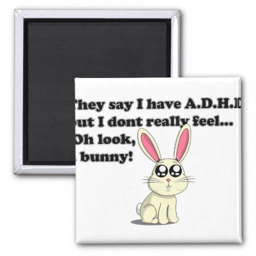 ADHD-kanin Kylskåps Magneter