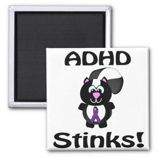 ADHD stinker Skunkmedvetenhetdesign Magneter För Kylskåp