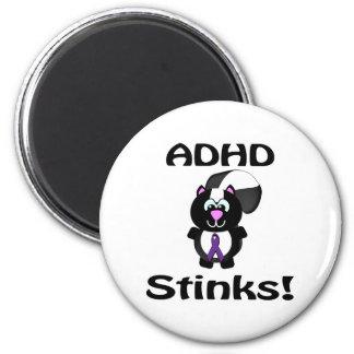 ADHD stinker Skunkmedvetenhetdesign Magneter