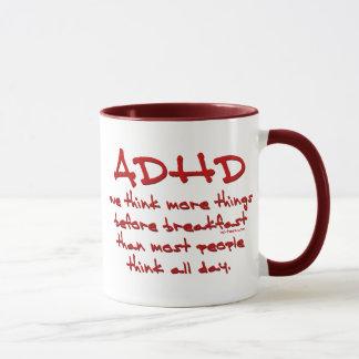 ADHD-tänka mer Mugg
