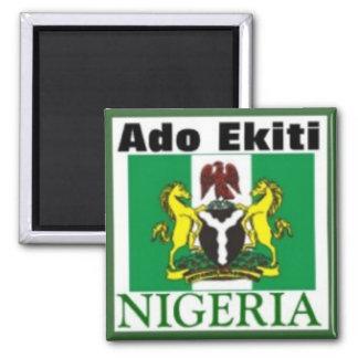 ADO EKITI, NIGERIA (T-tröja och etc.) Magnet