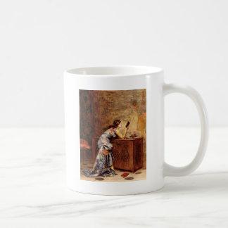 Adolphe Alexandre fängslade Lesrel Kaffemugg