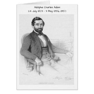Adolphe Charles Adam, 1850 Hälsningskort