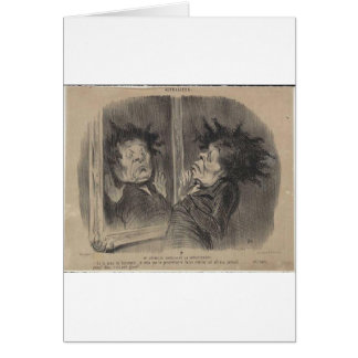 Adolphe Cremieux av Honore Daumier Hälsningskort