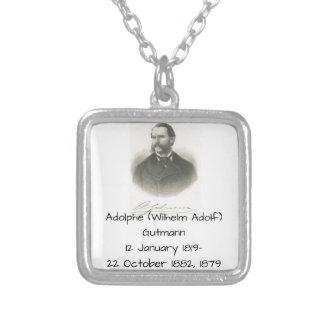 Adolphe (wilhelm Adolf) Gutmann Silverpläterat Halsband