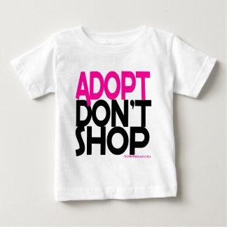 Adopt shoppar inte! Service räddar försök! Tee
