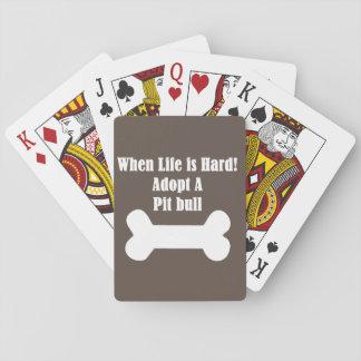 Adoptera en groptjur casinokort