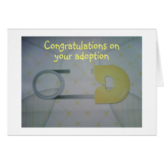 ADOPTION CONGRATULATIONS=LOVE & OMFAMNINGAR HÄLSNINGSKORT