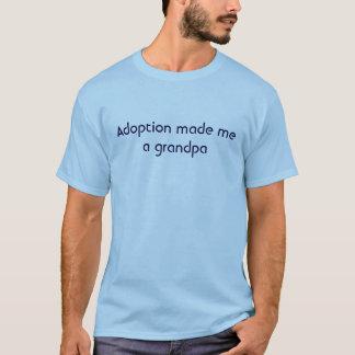 Adoption gjorde mig en morfar t shirts