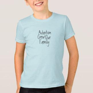 Adoption växte vår familj tröjor