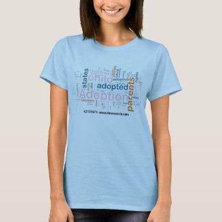 adoption-word-cloud_~k2131671 tee shirts
