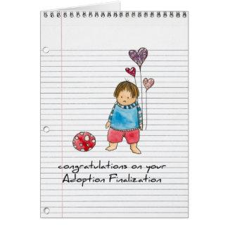 adoptionhälsningkort hälsningskort