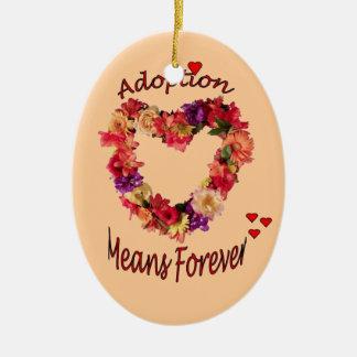 Adoptionprydnad Julgransprydnad Keramik
