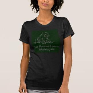 adoptiv- kvinnor för kortärmad för groptjursvart tshirts