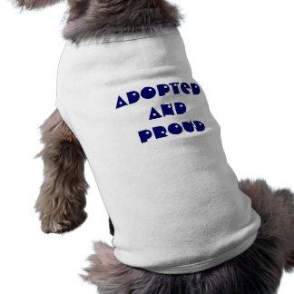 Adoptiv- och stolt hund tröja