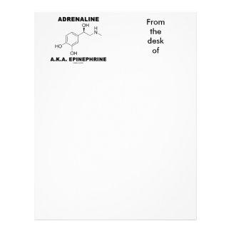 AdrenalinA.K.A. Epinephrine (kemi) Brevhuvud