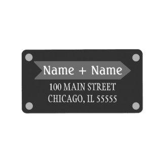 Adressetikett