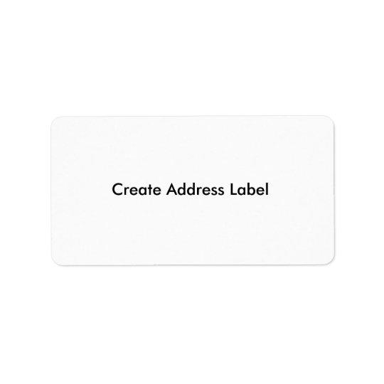 Adressetiketten skapar gör din egna adressetikett