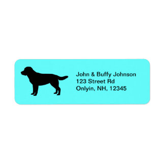 Adressetiketter för Labrador Retriever