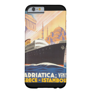 Adriatica Venise Grece Istamboul vintage resor Po Barely There iPhone 6 Skal