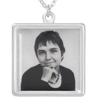 Adrienne Cecile rik, 70-tal Silverpläterat Halsband