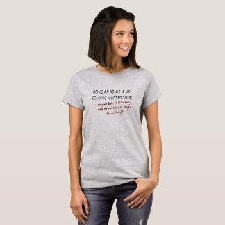 Adulting är hård t-shirts