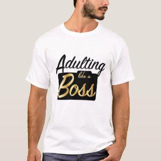 Adulting något liknande en chef | t-shirts