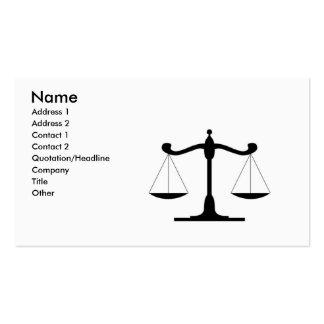 Advocare Set Av Standard Visitkort