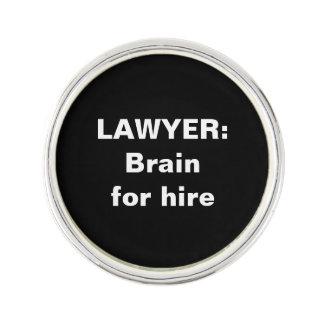 Advokatslag klämmer fast: Hjärna för hyra Rockslagsnål